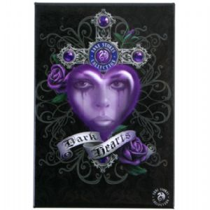 Anne Stokes  Dark Hearts fridge magnet
